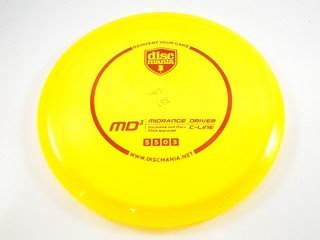 Discmania MD3 Yellow