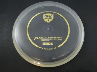 Discmania P3 Clear & Gold