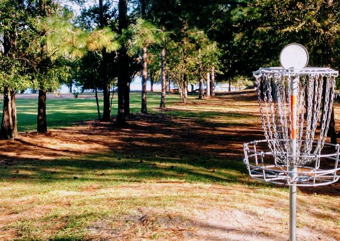 Scenic disc golf course