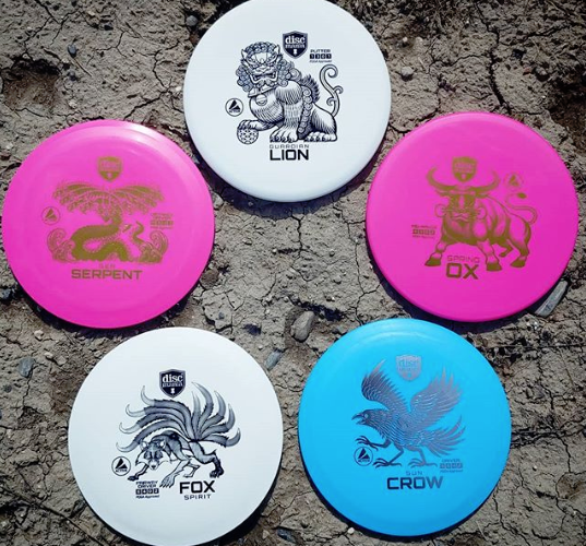 Discmania Active Line Discs Available Now