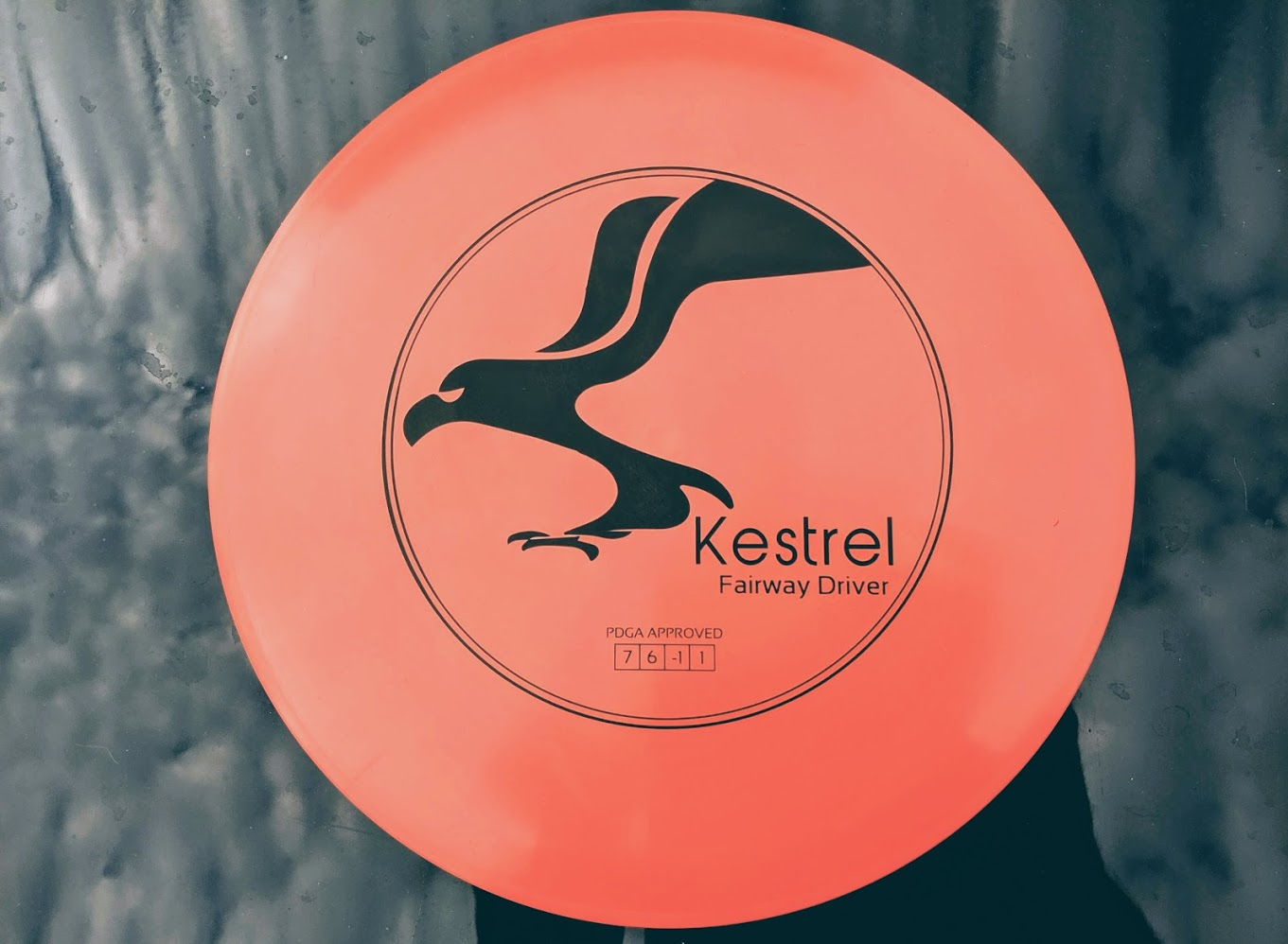 Kestrel Outdoors disc golf driver