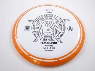 Orange Rimmed Tomahawk